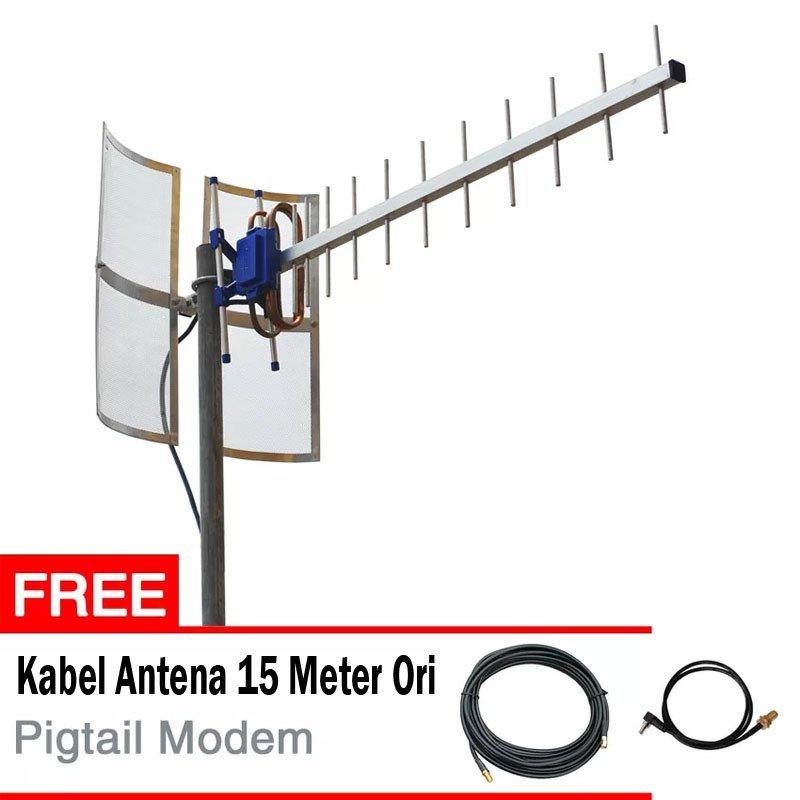 Antena Yagi TXR175 Untuk Huawei E5573 + Gratis Kabel Antena + Pigtail Modem