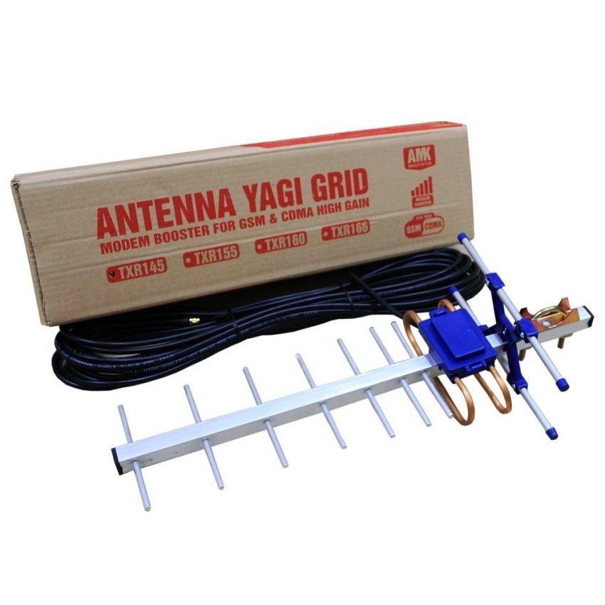 Antena Yagi Untuk Modem  Huawei E1612 High Extreme 4G LTE / 3G EVDO 45dBi