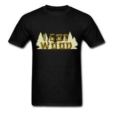 AOSEN FASHION Fashion Men's I Got Wood T-Shirts Black
