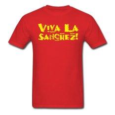 AOSEN FASHION Fashion Men's Viva La Sanchez T-Shirts Red