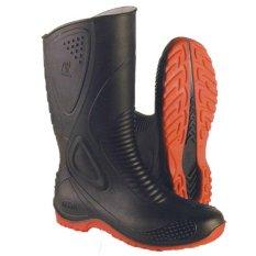 AP Boots Sepatu Boot Bikers Merah APMoto1
