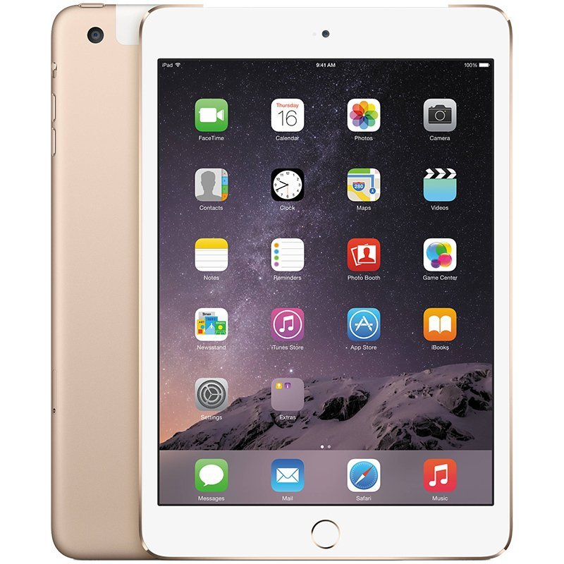 Apple Ipad Mini 4 Cell + WiFi 128GB - Gold