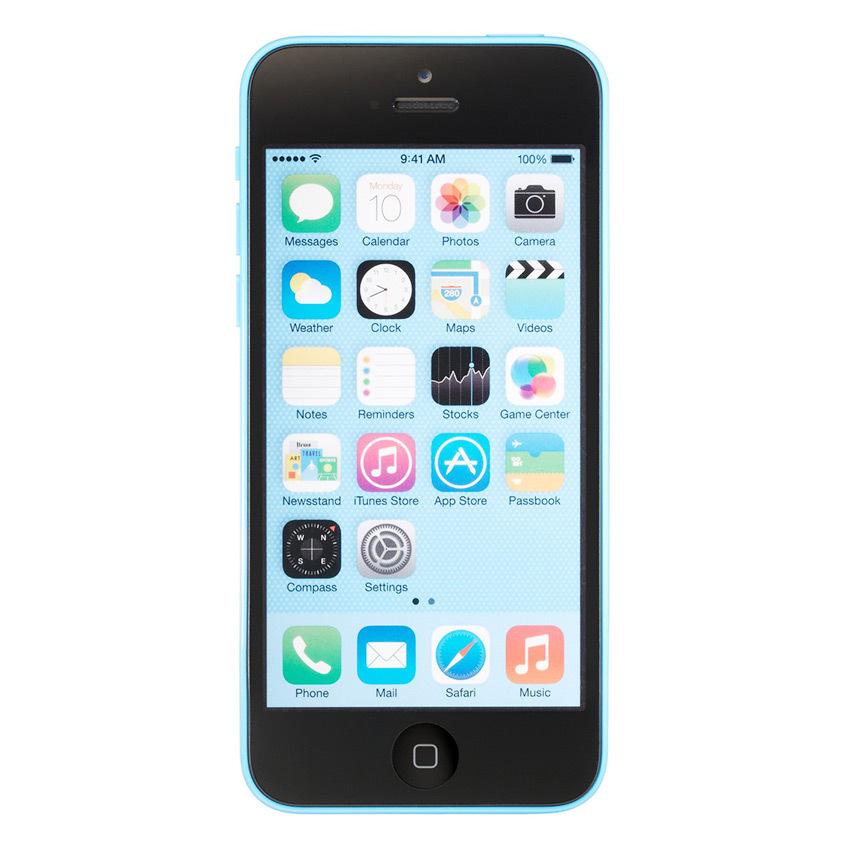 Apple iPhone 5C - 32 GB - Biru - Grade A + Gratis Power Bank 20000mAH