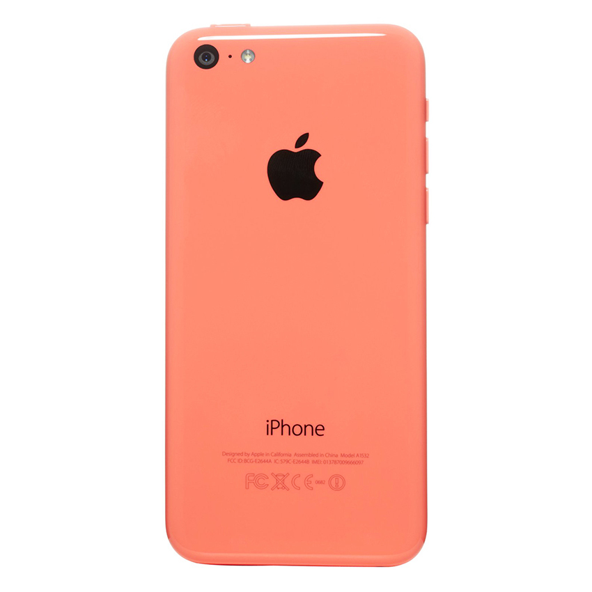 Apple iPhone 5C - 32 GB - Pink - Grade A + Gratis Tempered Glass - Power Bank 20000mAH