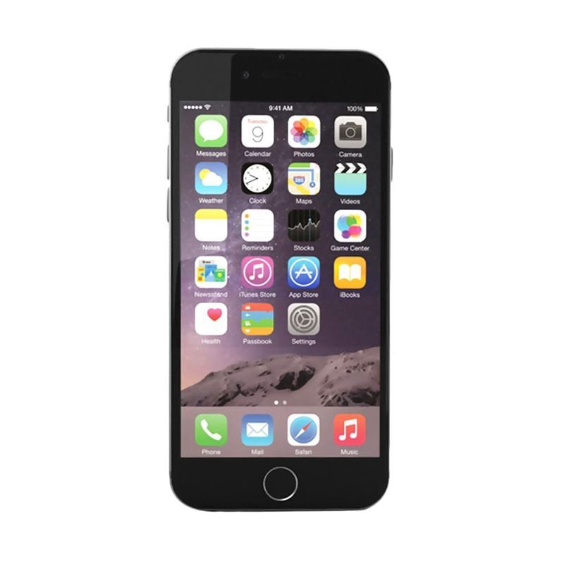 Apple iPhone 6S - 16GB - Abu-abu
