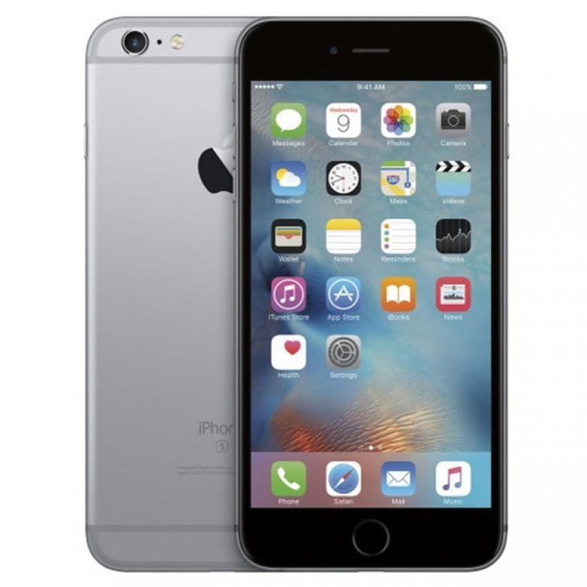 Apple iPhone 6S Plus - 16 GB - Abu-abu