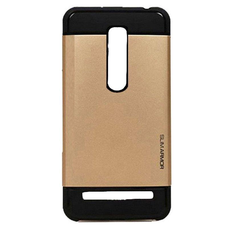 Armor Back Case Asus Zenfone 2 ZE551ML/ZE550ML Hardcase Slim Armor - Gold