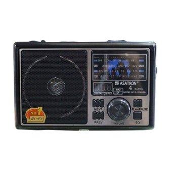 Asatron R1058 Radio USB - Hitam