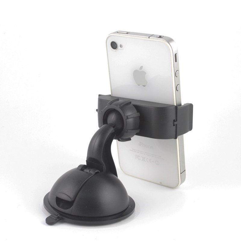 Asscom Universal Dashboard Windshield Car Mount for iPhone 6/6 Plus/5/5S/5C/4/4S/3G, Samsung GalaxyS2/S3/S4/S5/ S6, Galaxy NOTE2/3/4,HTC ONE/M8/M9/X, LG Revolution/Flex/G3/G2 (Intl)