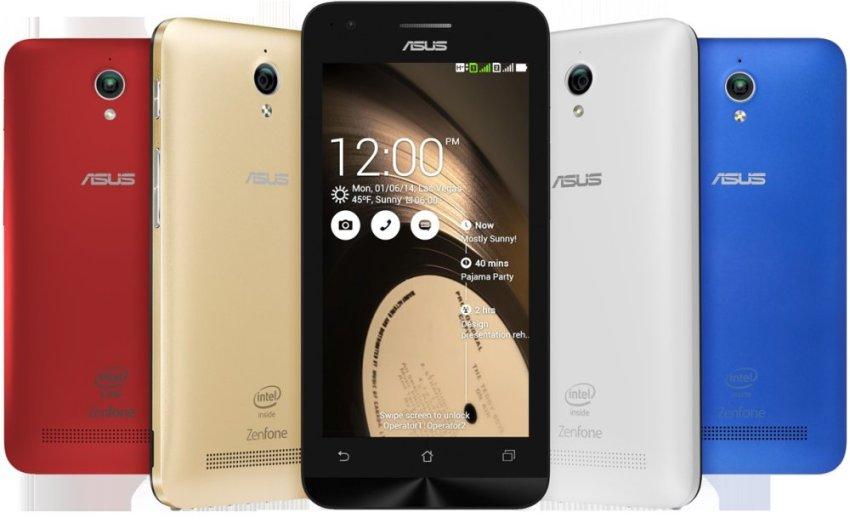 Asus Zenfone C 4C ZC451CG - 8GB - Biru + Gratis Micro SD 8GB