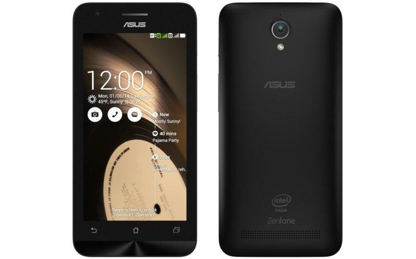 Asus Zenfone C ZC451CG - 8GB - Hitam + Bonus MMC 8GB
