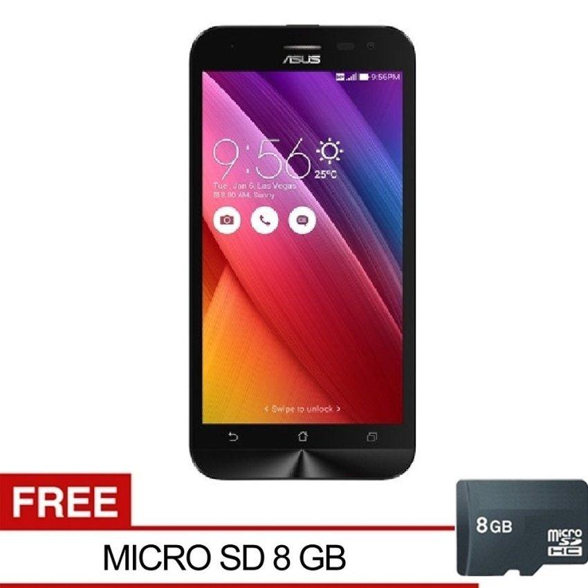 Asus Zenfone Go ZC500TG - 8GB - Hitam + Gratis Micro SD 8GB