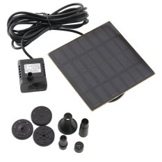 Aukey Solar Panel Power Fountain Water Pump