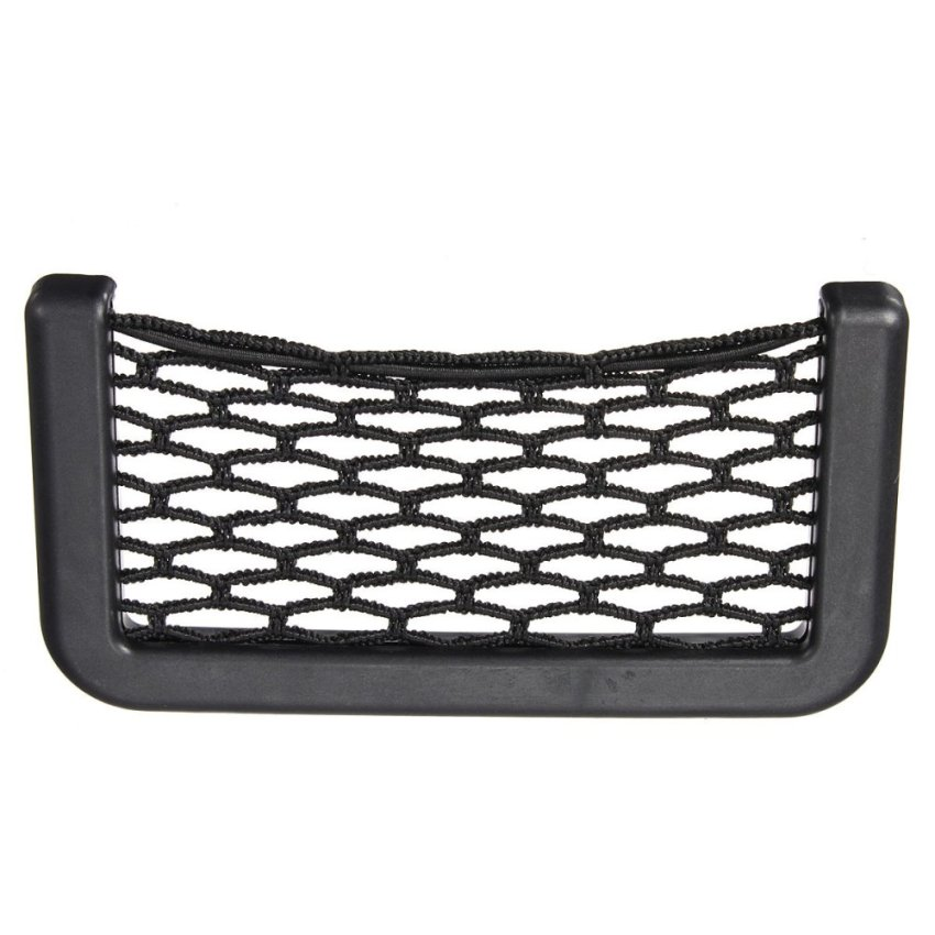 Auto Car Vehicle Storage Mesh Resilient String Bag Holder Pocket Organizer Small (Intl)