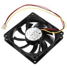Autoleader 3 Pin 80mm 15mm PC CPU Cooling Fan Heatsinks Radiator For Desktop Computer 12V (Intl)
