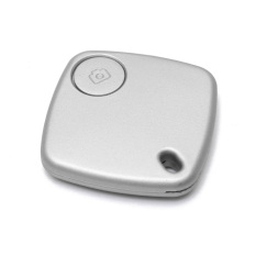 Autoleader Bluetooth Anti-lost Key Finder Camera Remote Quadrate Tracker Silver (Intl)