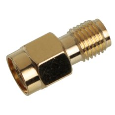 Autoleader Gold Plating RF Adapter SMA Male Plug To SMA Female Jack RF Coaxial Connector - Intl