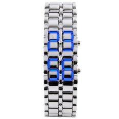 Autoleader SKMEI Men's 8061 Men's Fashionable Blue LED Digital Waterproof Outdoor Wristwatches (Intl)