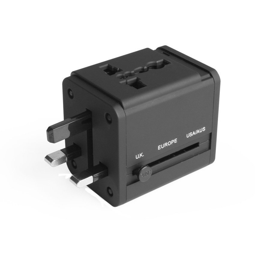 Avantree AC Travel Adapter & USB Charger 2.1A - Hitam