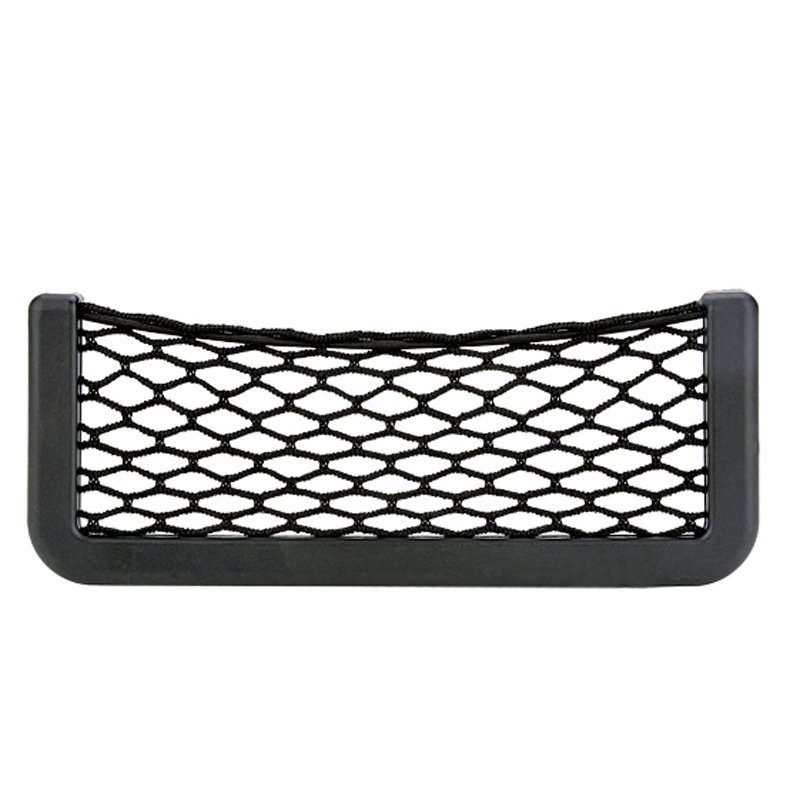 Azone Black Universal Vehicle Storage Nets Car Resilient String Bag(Black)