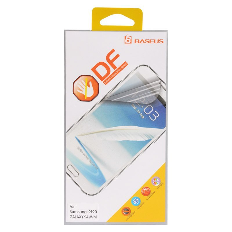 Baseus Defend Fingerprint Screen Guard - Samsung Galaxy S4 Mini
