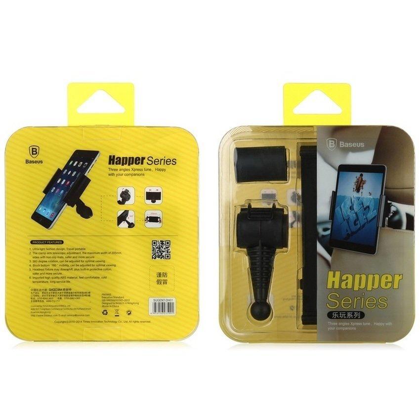Baseus Happer Series Car Mount Holder for Tablet 7-10 Inch - Hitam