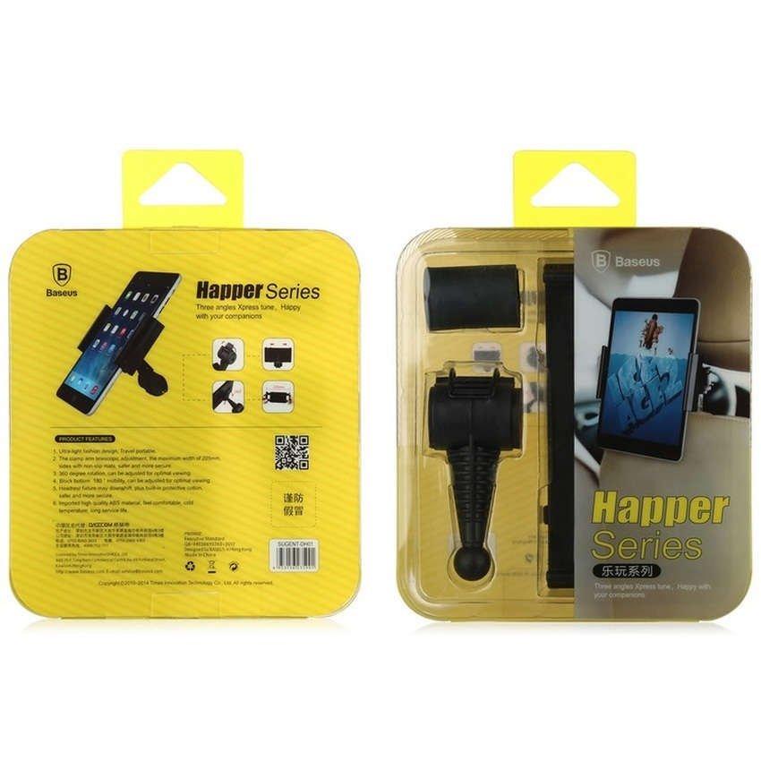 Baseus Happer Series Car Mount Holder Untuk Tablet 7-10 Inch - Hitam