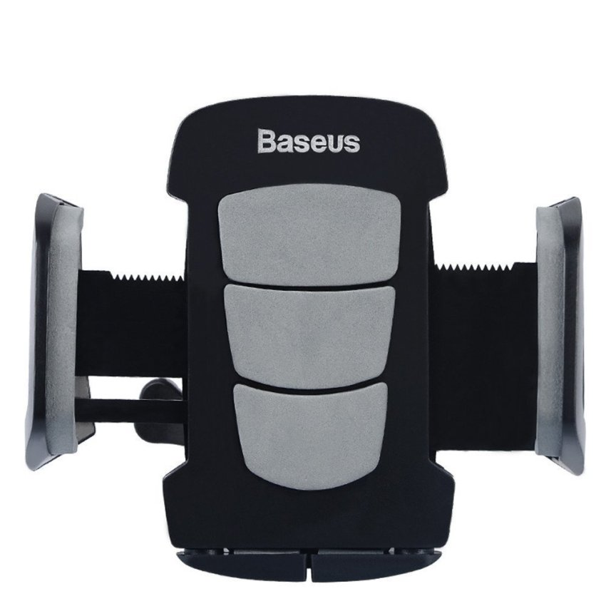 Baseus Wind Series Air Conditioning Car Holder for Smartphone / iPhone 4 - 6 Inch - Black