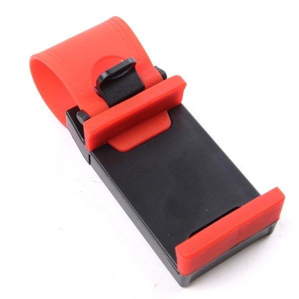 Bazel Car Steering Holder - Merah