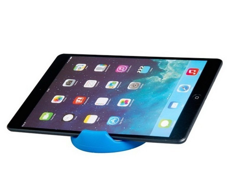 Bazel OK Stand For Smartphone, Ipad, Tablet Android Biru + Gratis OK Stand