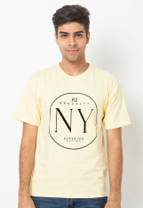 BCD Cantwo T Shirt 82 Brooklyn - Kuning
