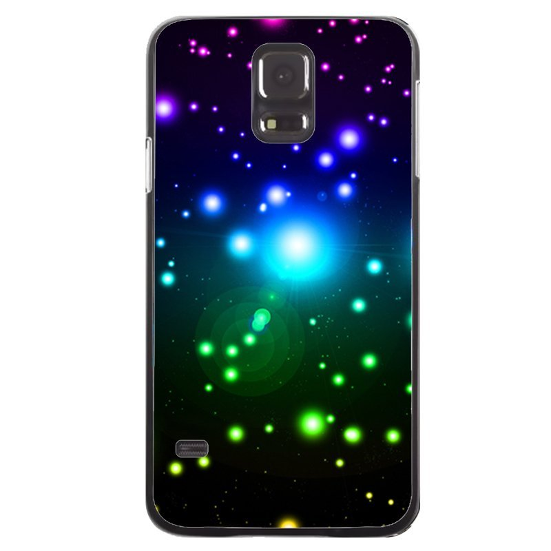 Beautiful Starlight Painting Phone Case for Samsung Galaxy S5 (Black)