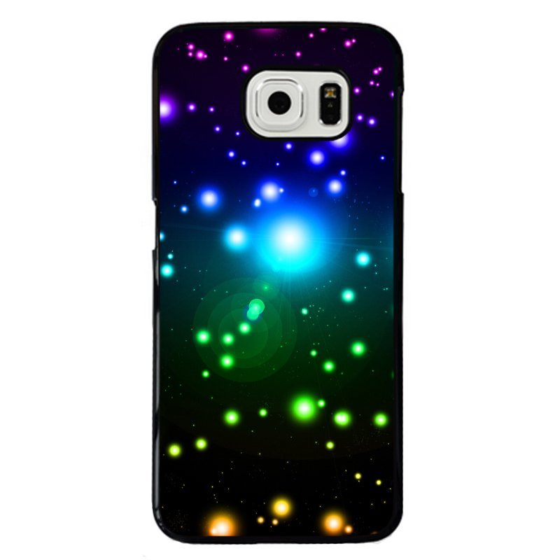 Beautiful Starlight Painting Phone Case for Samsung Galaxy S6 Edge (Multicolor)