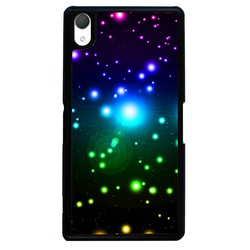 Beautiful Starlight Painting Phone Case for SONY Xperia Z3 (Black)