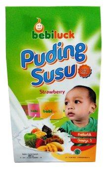 Bebiluck Puding Susu (Puding Bayi) - Strawberry | Lazada ...