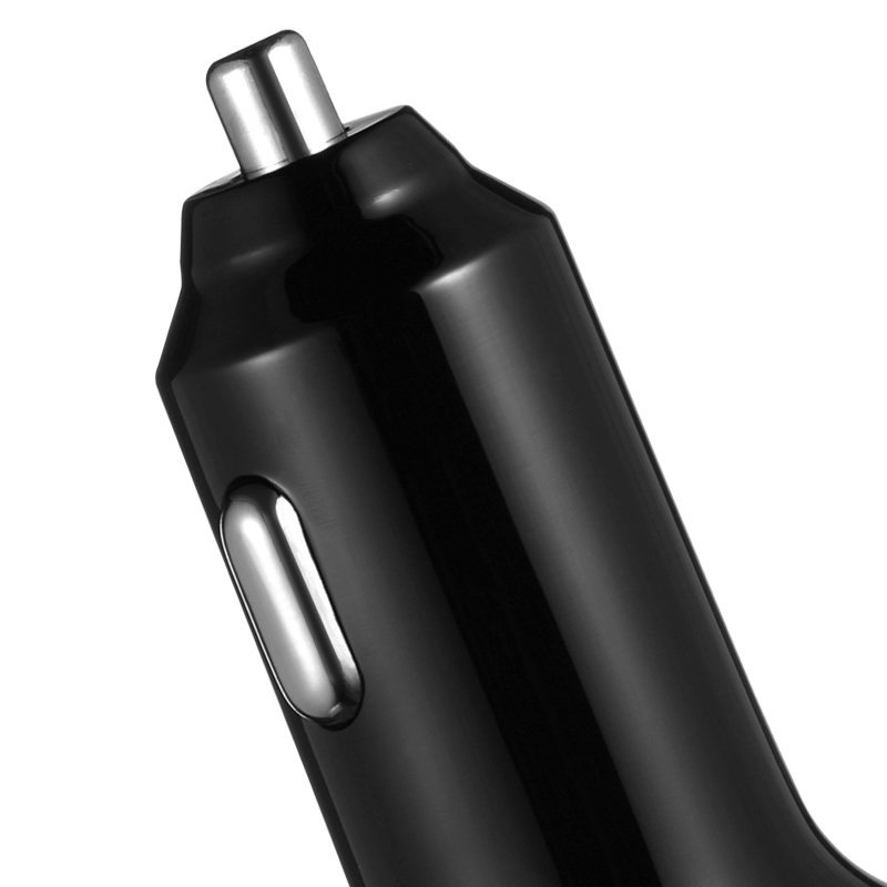 Benks 3 USB Ports Smart Universal High Capacity Fast Car Charger for Phones (Black) (Intl)