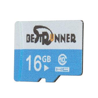 BESTRUNNER 16G TF Secure Digital High Speed Flash Memory Card Class10 Blue - Int
