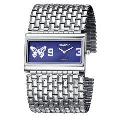 Big Face Silver Bangle Watch Women Fashion Brand Analog Quartz-watch Ladies Watches Clock Women Watch Bracelet Woman