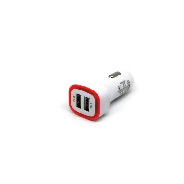 Billionton USB Universal Car Charger 3.1 - Merah