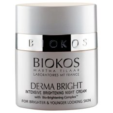 Biokos Krim Malam Derma Bright Intensive Brightening - 25 g