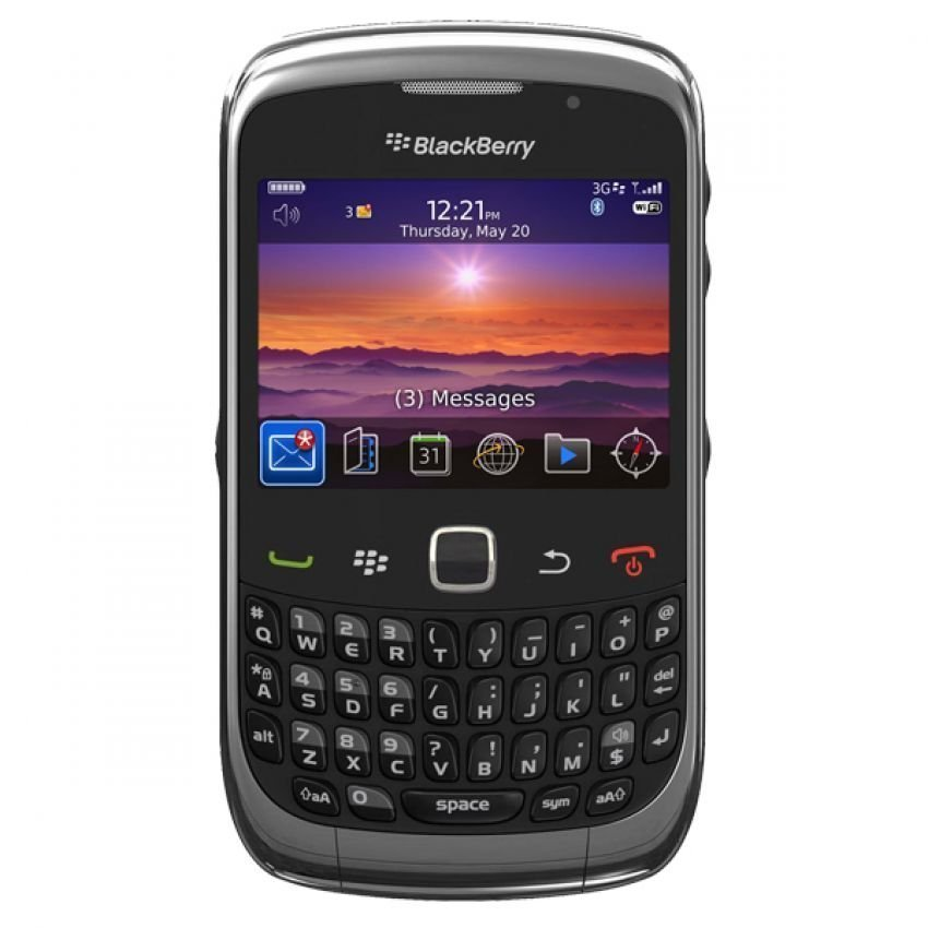 Blackberry 8530 CDMA - 256MB - Hitam