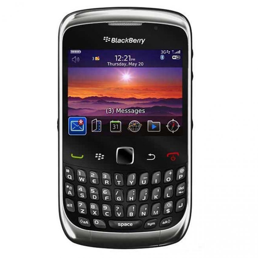 Blackberry 9300 3G Kepler - Hitam