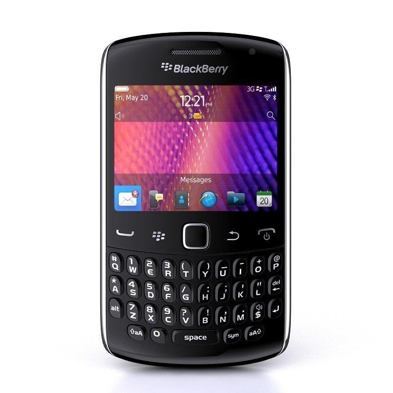 Blackberry 9350 Sedona - 512MB - Hitam