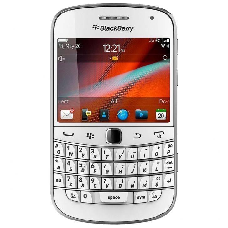 Blackberry Dakota 9900 - 8GB - Putih + Gratis Power Bank 3000mAH