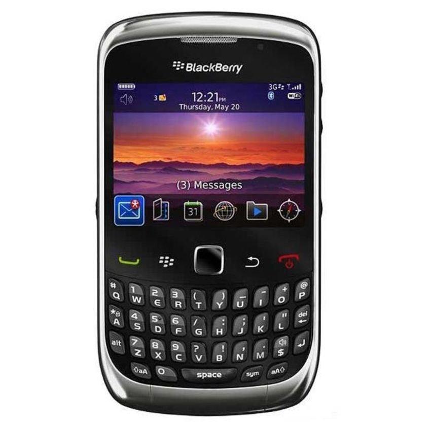 Blackberry Keppler 9300 - 256 MB - Abu abu Grafit