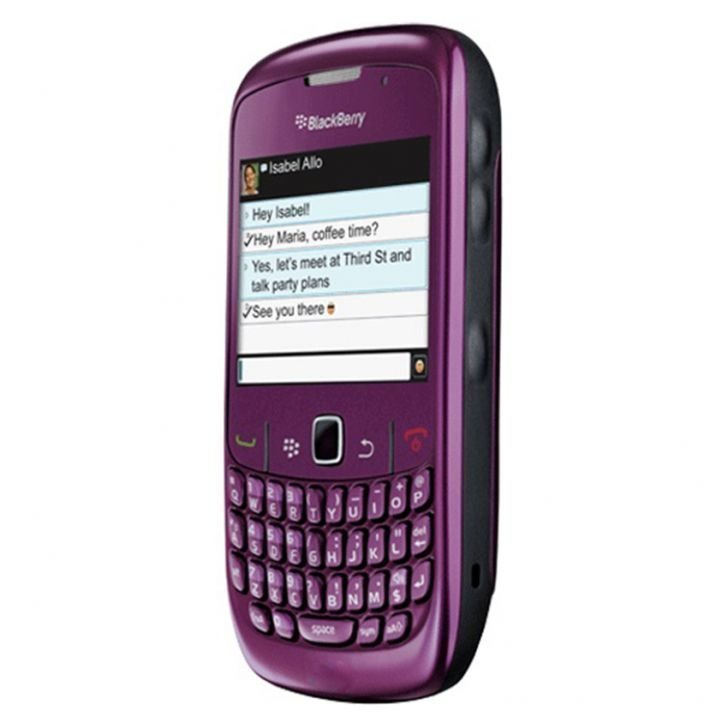 BlackBerry Smartfren 8530 - Ungu