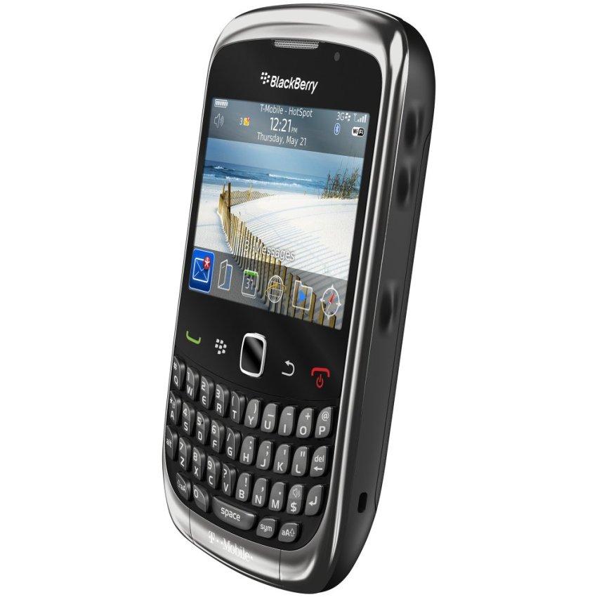 BlackBerry Smartfren 9330 – 512 MB - Hitam/Metalik