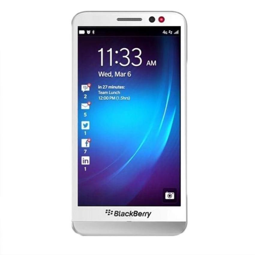 Blackberry Z30 - 16GB - Putih + Gratis Micro SD 8GB + Power Bank 3000mAh