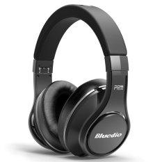 Bluedio Ufo Premium Wireless Bluetooth Headset High End Headphones With Mic - Hitam