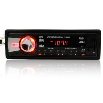 Bluetooth Car Audio Stereo 1DIN MP3 Radio Player AM FM Aux Input Receiver SD USB